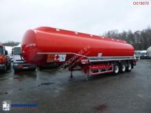 Cobo Fuel tank alu 40.5 m3 / 7 comp ADR valid till 28-09-21 semi-trailer used tanker