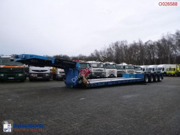 Goldhofer 4-axle lowbed trailer 94T//STZ-VHH-47/80A//4 steering axles semi-trailer used heavy equipment transport
