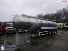 Semi remorque citerne Magyar Fuel tank inox 37.8 m3 / 7 comp / ADR 08/2021
