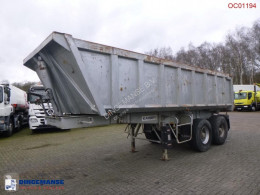Robuste Kaiser Tipper trailer steel 24 m3 + tarpaulin semi-trailer used tipper