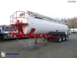 Feldbinder Powder / sugar tank alu 41 m3 (tipping) semi-trailer used food tanker