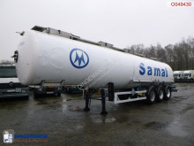 Semi remorque Magyar Chemical tank inox 34 m3 / 1 comp / ADR 14-10-21 citerne produits chimiques occasion