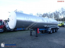 Magyar Chemical tank inox 32.5 m3 / 1 comp semi-trailer used chemical tanker