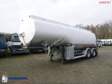Semirremolque Fuel tank alu 28 m3 / 5 comp + pump cisterna usado