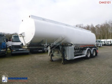 Semi reboque cisterna Fuel tank alu 28 m3 / 5 comp + pump
