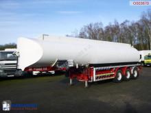 Naczepa Fuel tank alu 37.6 m3 / 6 comp + Hydraulic discharge pump cysterna używana