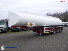 Semi reboque cisterna Fuel tank alu 37.6 m3 / 6 comp + Hydraulic discharge pump