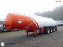 Cobo Fuel tank alu 40.4 m3 / 6 comp semi-trailer used tanker