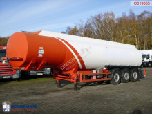 Cobo Fuel tank alu 42.6 m3 / 6comp semi-trailer used tanker