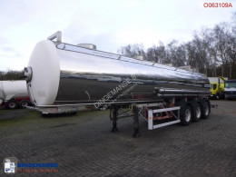 Maisonneuve Chemical tank inox 26.2 m3 / 1 comp semi-trailer used chemical tanker
