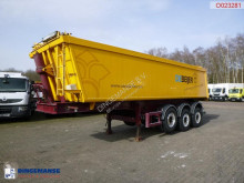 Tipper trailer alu + tarpaulin 29 m3, MOT valid till 02-02-2022 semi-trailer used tipper
