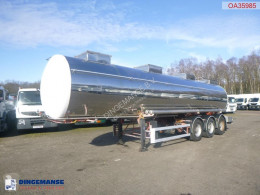 Trailer BSLT Chemical tank inox 26.3 m3 / 1 comp tweedehands tank chemicaliën