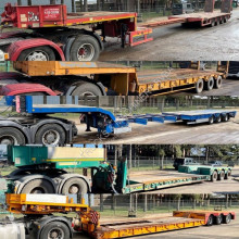 Semi remorque porte engins Faymonville NOOTEBOOM - DIVERSE LOWLOADERS FOR SALE - CONTACT US