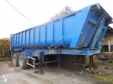 Fruehauf 2 essieux semi-trailer used half-pipe
