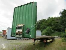Semirremolque caja abierta Krone Plateau, Steckrungentaschen, Zurrösen Reifen gut