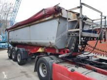 Trailer Schmitz Cargobull SKI SKI 24 SL 7.2 Stahlmulde 24 m³ Liftachse Alu Felgen tweedehands bouwkipper