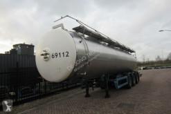 Semi remorque citerne Magyar Tank Trailer / 28500 Liter / Drum Brakes / 1991
