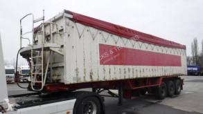 Stas 55m3 semi-trailer used cereal tipper