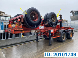 Semiremorca Renders Skelet 20 ft transport containere second-hand