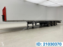 System Trailers Plateau semi-trailer damaged flatbed
