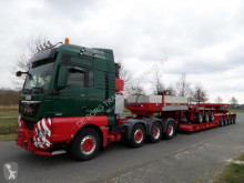 Semi remorque Goldhofer THP XLE 8 (3+5 low loader) porte engins occasion