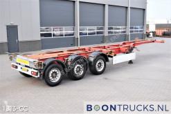 Semi remorque porte containers Schmitz Cargobull SCF 24 G LX | 2x20-30-40ft HC * DISC BRAKES * LIFT AXLE