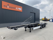 Semiremorca Krone NEW / UNUSED/ UNREGISTERED 45FT HC-Chassis, Discbrakes, Liftaxle, 3x beschikbaar transport containere noua