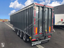 Trailer Gervasi 80m3 - double vérins nieuw metaalkipper