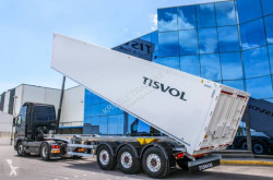 Tisvol cerealieres 54,7m3 semi-trailer new cereal tipper