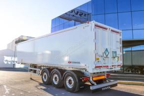 Semiremorca Tisvol cerealieres 57.3 m3 benă transport cereale noua