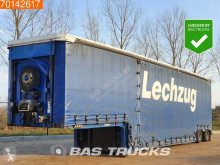 Semi remorque Meusburger MPG-2 2x Hydr. Lenkachse porte engins occasion