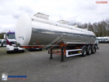 Trailer BSLT Chemical tank inox 30 m3 / 1 comp tweedehands tank chemicaliën