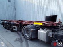 Semi remorque porte containers Fruehauf Oplegger