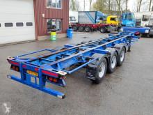 Pacton 3139 CS - 3 Assen ROR - Trommelremmen - STEEL SUSPENSION (O546) semi-trailer used container