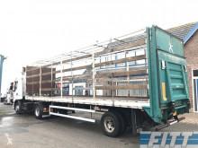Floor gestuurde open oplegger - klep semi-trailer used flatbed