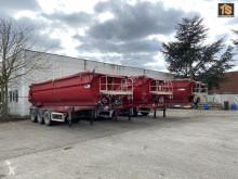 MOL tipper semi-trailer - - 4x ALU/ALU - KIPPER/TIPPER - GOOD TIRES - BELGIUM TOP