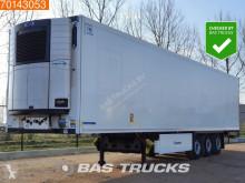 Návěs Krone Carrier Vector 1550 2x Liftachse Doppelstock Palettenkasten chladnička mono teplota použitý