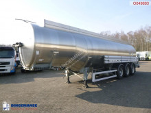Magyar Fuel tank inox 38.7 m3 / 8 comp semi-trailer used tanker