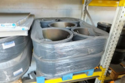 Peças pesados travagem travão de tambor Krone 10 Stück BPW Bremstrommel für 9 t Achse