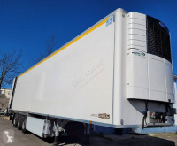 Chereau duplex + multi semi-trailer used multi temperature refrigerated