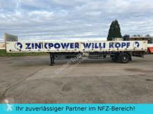 Schwarzmüller heavy equipment transport semi-trailer 1- Achs Bordwand SANH Lenkachse