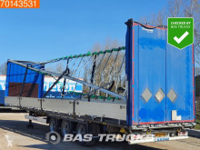 Krone SD semi-trailer damaged tautliner
