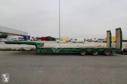 Verem heavy equipment transport semi-trailer Porte engins