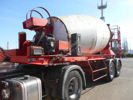 Návěs Dorgler malaxeur beton beton frézovací stroj / míchačka havarovaný