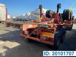 Sættevogn Fruehauf Skelet 20 ft containervogn brugt