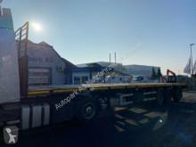 ES-GE Plattform Auflieger SAF-Achsen Lenkachse semi-trailer used flatbed