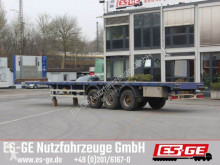 Wiese 3-Achs-Sattelanhänger semi-trailer used flatbed