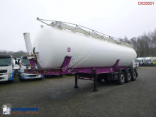 Feldbinder Powder tank alu 42 m3 (tipping) semi-trailer used tanker