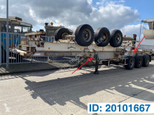 Sættevogn containervogn Skelet 2 x 20-30-40 ft