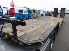 King heavy equipment transport semi-trailer Lowbed 44 Tons GVW, ABS, Rampen